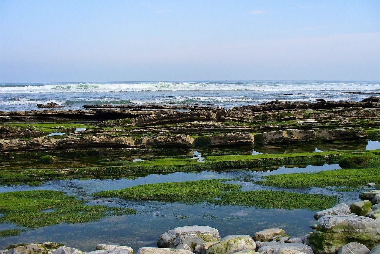 La plage d'Ogella, près d'Ispaster et Lekeitio